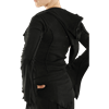 Bell Sleeve Hooded Light Jacket