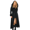 Womens Long Hooded Gothic Coat