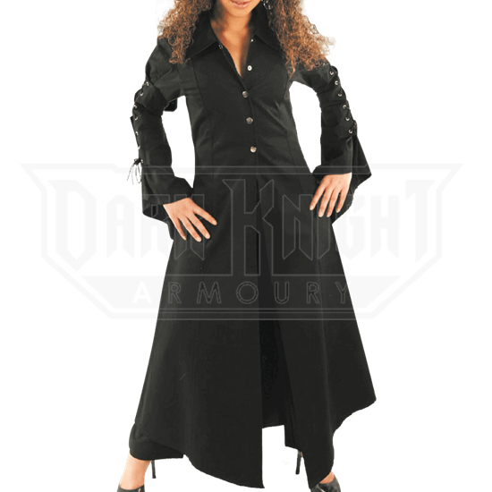 Womens Gothic Duster Coat