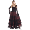 Gothic Laced Bodice Dress