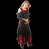 Long Lace Gothic Handkerchief Skirt