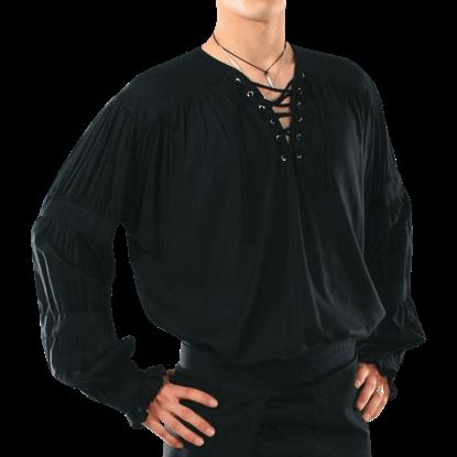 Mens Old-World Gothic Shirt