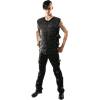 Gothic Belt Wrapped Trousers