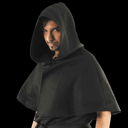 Hooded Shoulder Cape