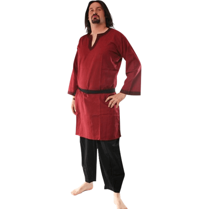 Long Sleeved Medieval Tunic
