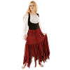 Medieval Blouse with Lace Sleeve Cuffs
