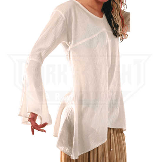 Flowing Womens Medieval Blouse