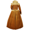 Gold Velvet Renaissance Tudor Gown