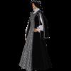 Silver Rose Renaissance Gown