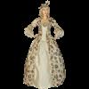Antique Flower Renaissance Dress