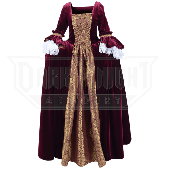 Elegant Renaissance Dress
