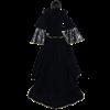 Noble Velvet Dress with Train
