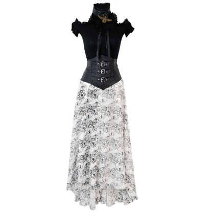Vintage Styled Butterfly Skirt