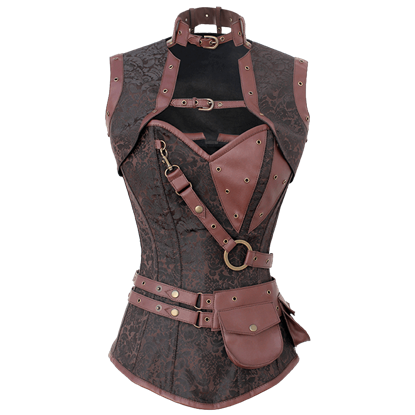 Steampunk Adventurers Corset with Jacket