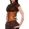 Pure Leather Delight Underbust Corset