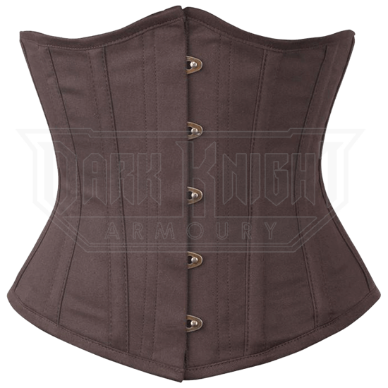 Brown Shaping Underbust Corset