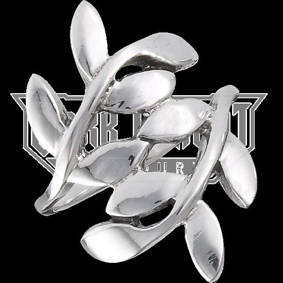 Sterling Silver Vine Wrap Ring