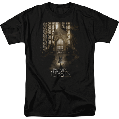 Fantastic Beasts Theatrical Poster T-Shirt