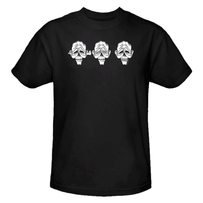 Three Dead Zombies T-Shirt
