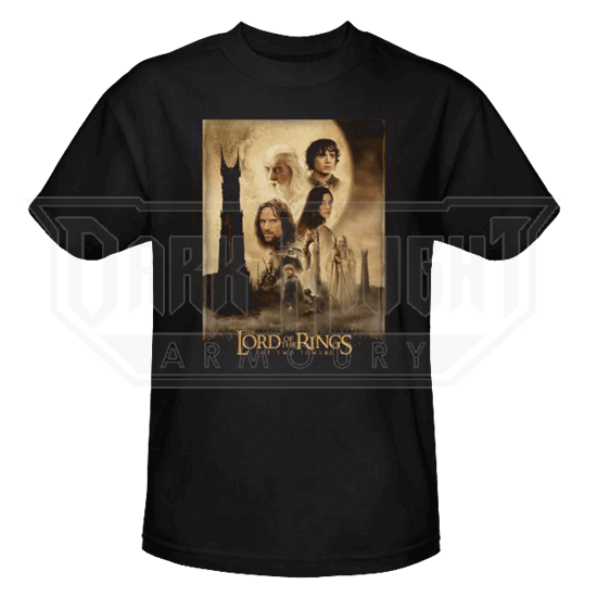 Two Towers Poster T-Shirt