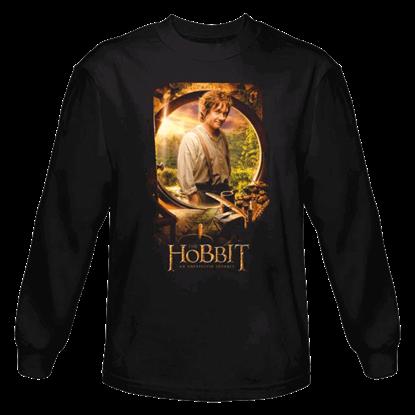 Bilbo Poster Long Sleeved T-Shirt