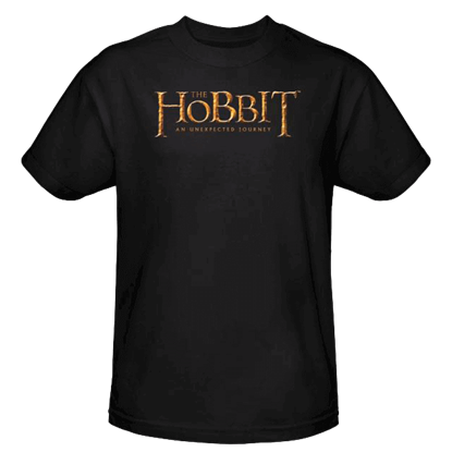 Black Hobbit Logo T-Shirt