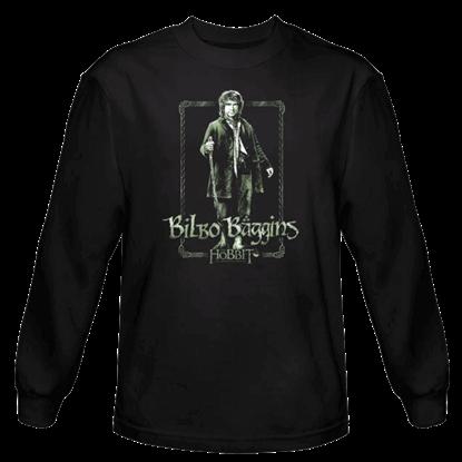 Bilbo Stare Long Sleeved T-Shirt