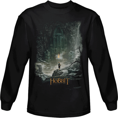 At Smaug's Door Long Sleeved T-Shirt