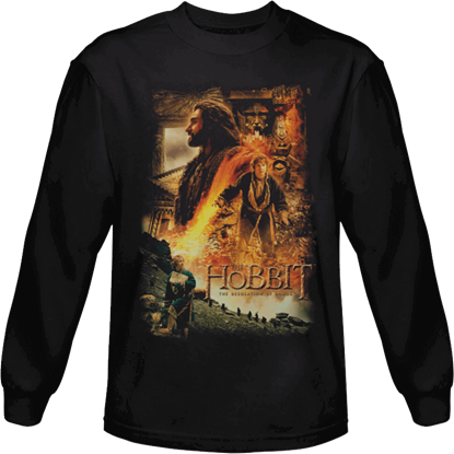 Golden Chambers Hobbit Long Sleeved T-Shirt