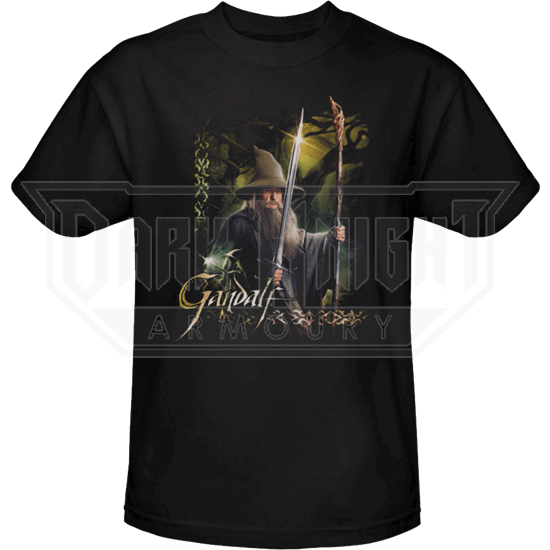 Gandalf Staff and Sword T-Shirt