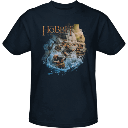 Barreling Down Hobbit T-Shirt