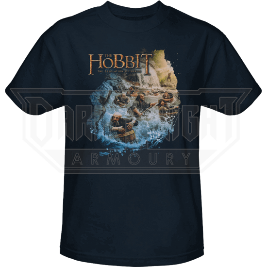 Barreling Down Hobbit T-Shirt