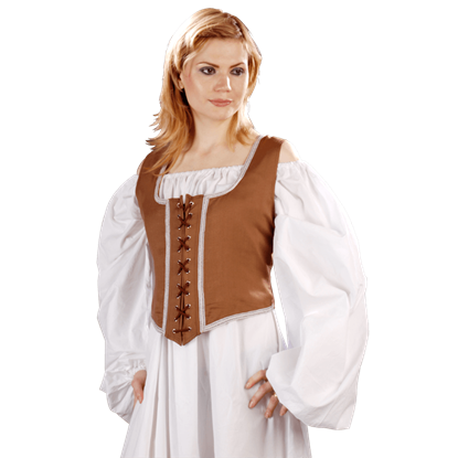 Decorated Reversible Wench Bodice