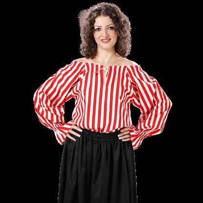 Anne Bonney Striped Blouse