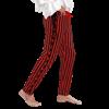 Sidestring Striped Pants