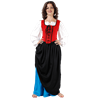 Double-Layer Medieval Skirt