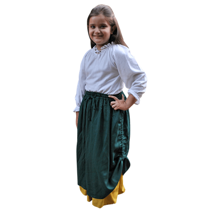 Girls Double-Layered Skirt