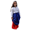 Girls Double-Layered Skirt