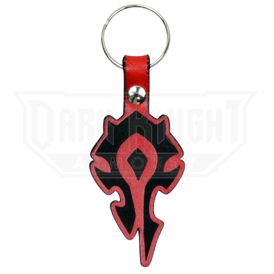 Horde Leather Key Chain