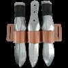 Triple LARP Knife Belt Holder
