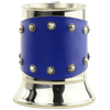 Medieval Tankard with Studded Leather Wrap