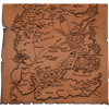 Leather Map of Westeros