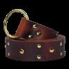 Knights Studded Ring Belt