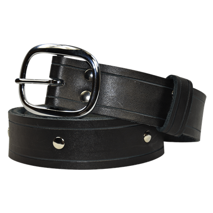Simple Studded Buckle Belt