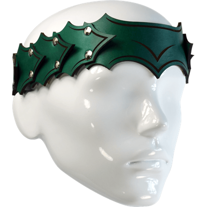 Dragonscale Leather Headband