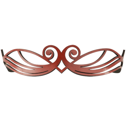 Elven Princess Leather Headband