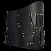 Dark Rogue Leather Belt
