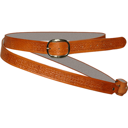 Celtic Double Wrap Sword Belt
