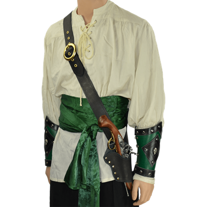 Pirate's Single Holster Pistol Baldric