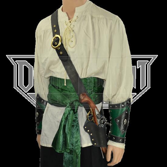 Pirate's Single Holster Pistol Baldric